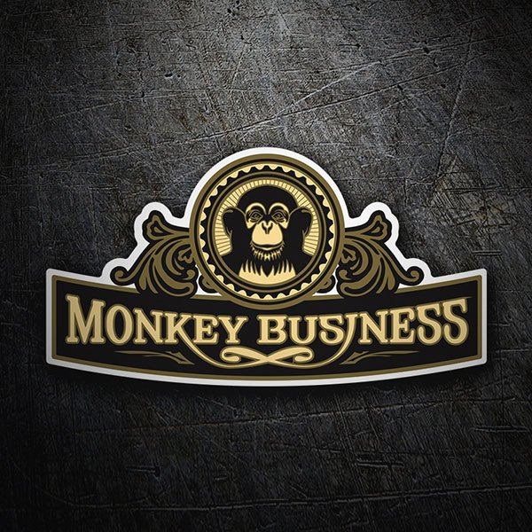 Autocollants: The Black Eyed Peas - Monkey Business