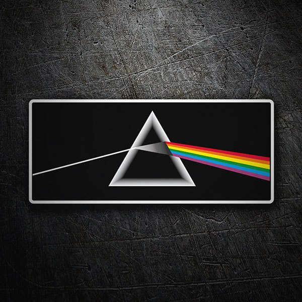 Autocollants: Pink Floyd - The Dark Side of the Moon