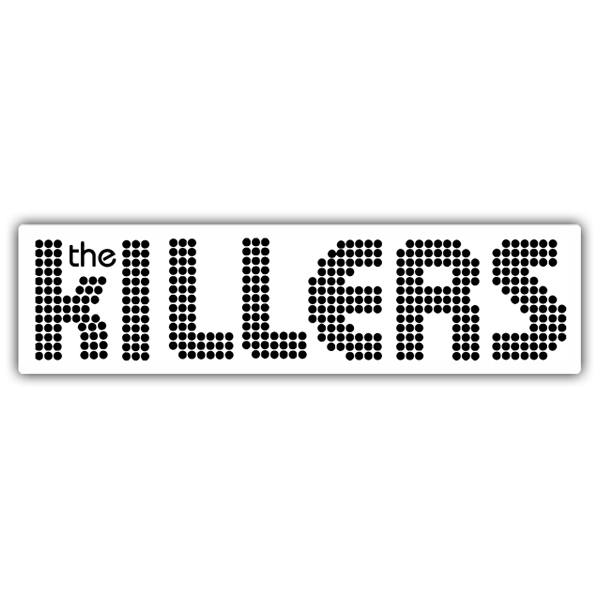 Autocollants: The Killers Logo