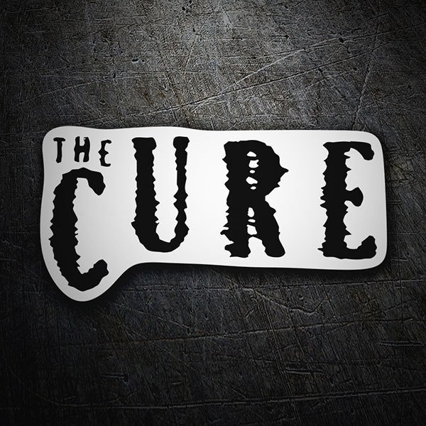 Autocollants: The Cure