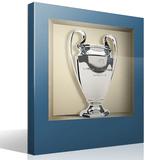 Stickers muraux: Trophée de la Ligue des Champions niche 4