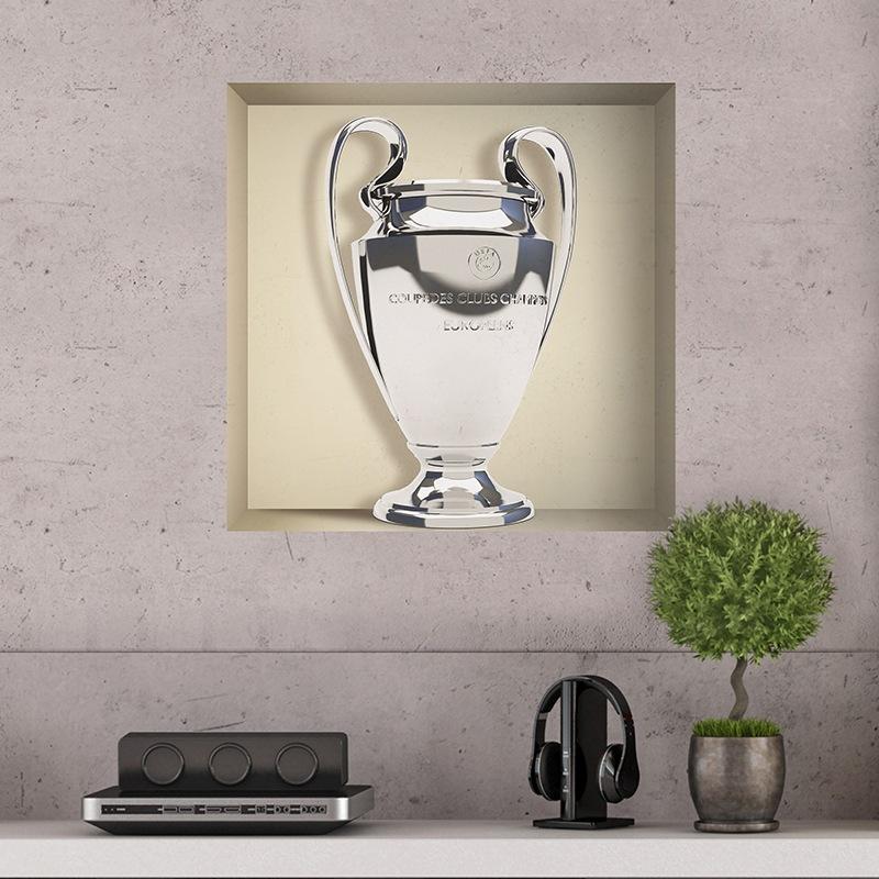 Stickers muraux: Trophée de la Ligue des Champions niche