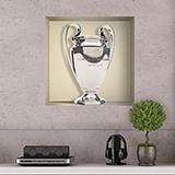 Stickers muraux: Trophée de la Ligue des Champions niche 5
