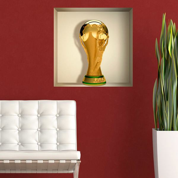 Stickers muraux: Coupe du Monde de Football niche