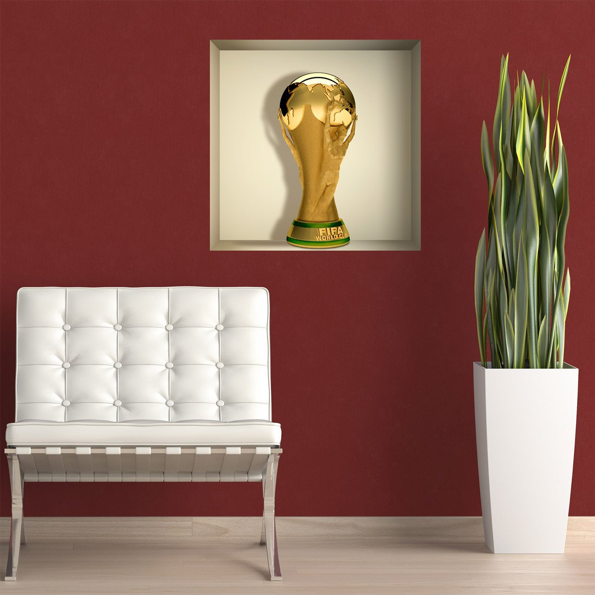 Stickers muraux: Coupe du Monde de Football niche