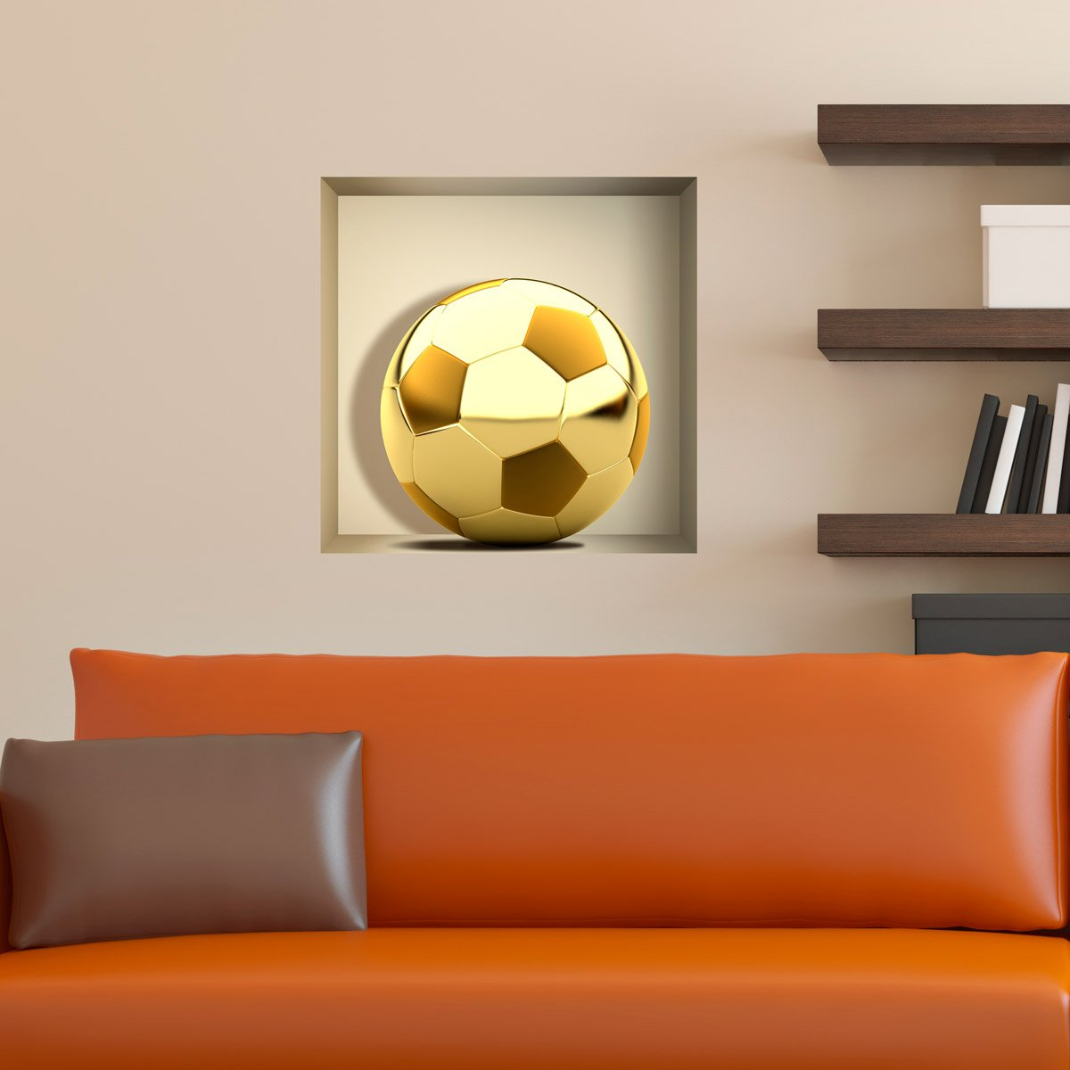 Stickers muraux: Ballon d Or niche
