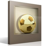 Stickers muraux: Ballon d Or niche 4