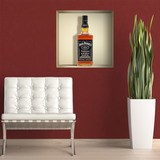 Stickers muraux: Bouteille de Jack Daniels niche 3