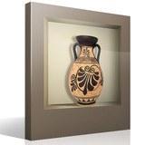 Stickers muraux: Vase Grec niche 4