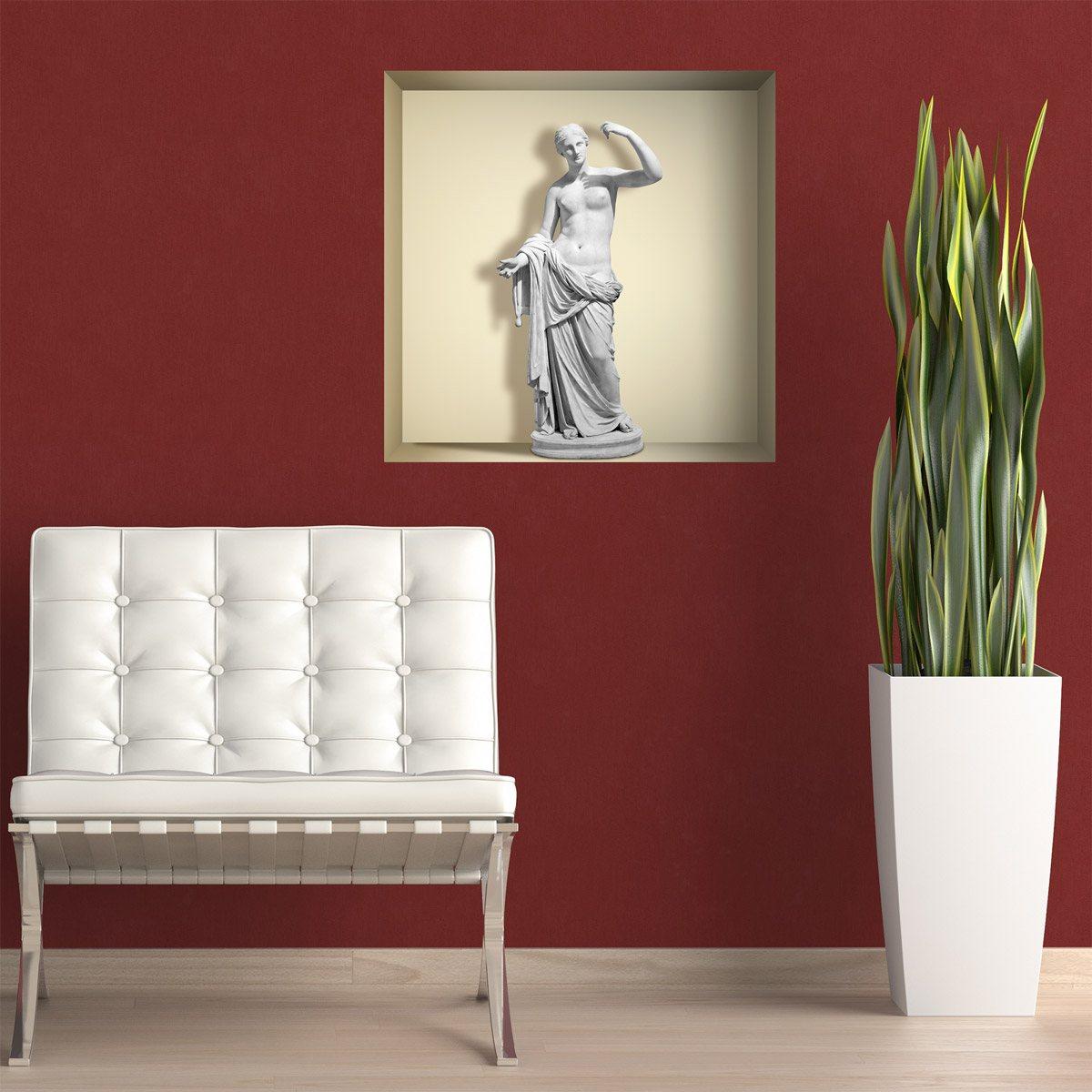 Stickers muraux: Statue de Vénus niche