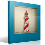 Stickers muraux: Phare Maritime niche 4
