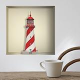 Stickers muraux: Phare Maritime niche 5