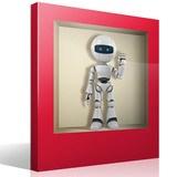 Stickers muraux: Robot niche 4