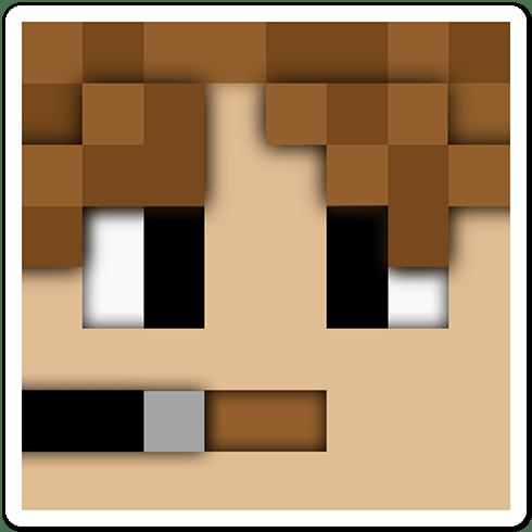 Stickers muraux: Tête Minecraft 5