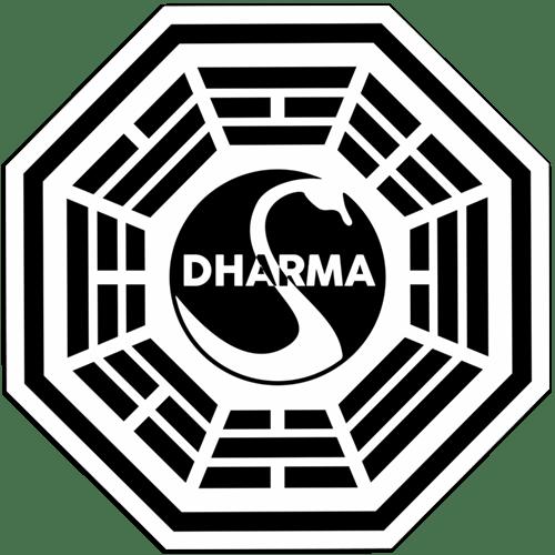 Autocollants: Dharma Lost