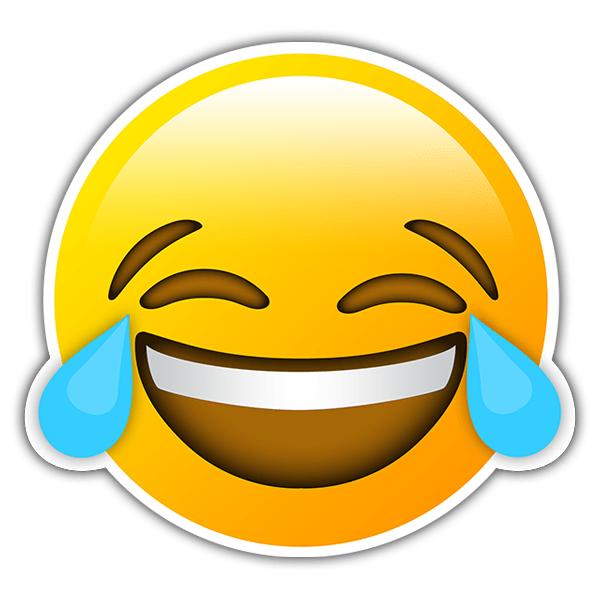 El chiste de hoy. Autocollants-visage-de-larmes-de-joie