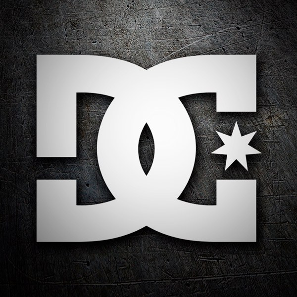 Autocollants: DC SHOES USA LOGO
