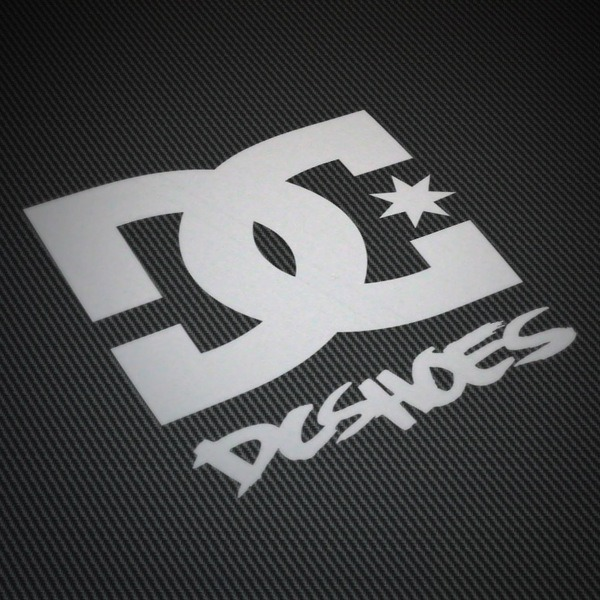 Autocollants: DC SHOES USA 2