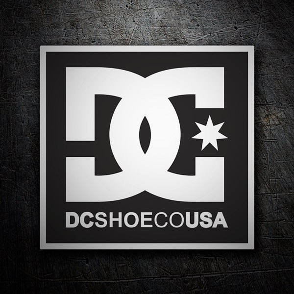 Autocollants: DC Shoes USA