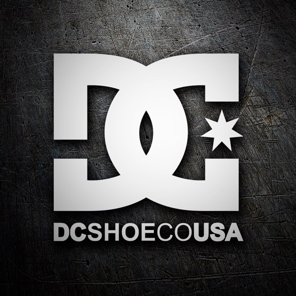Autocollants: DC SHOE CO USA 2