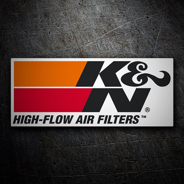 Autocollants: K&N High-Flow Air Filters