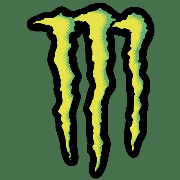 Monster energy logo 1 - Film transparent autocollant ...