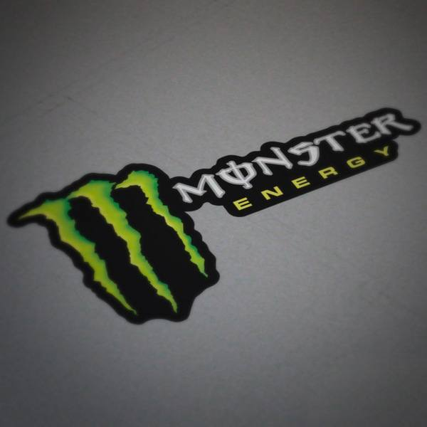 Autocollants: Monster Energy 4