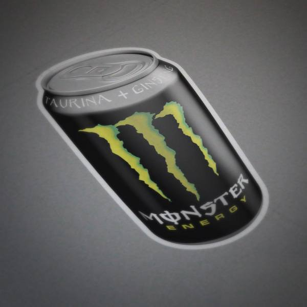 Autocollants: Monster Energy boîte 1