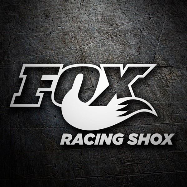 Autocollants: Fox Racing Shox