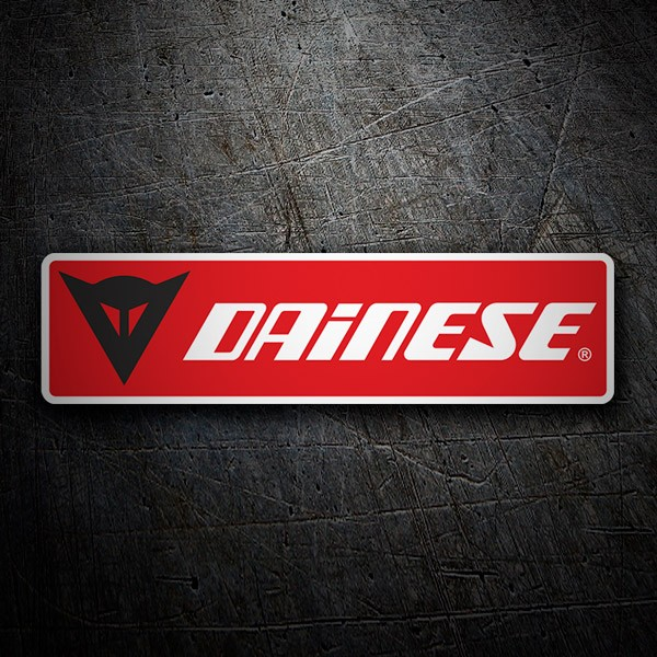 Autocollants: Dainese rouge