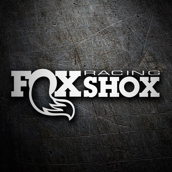 Autocollants: Fox Shox Racing