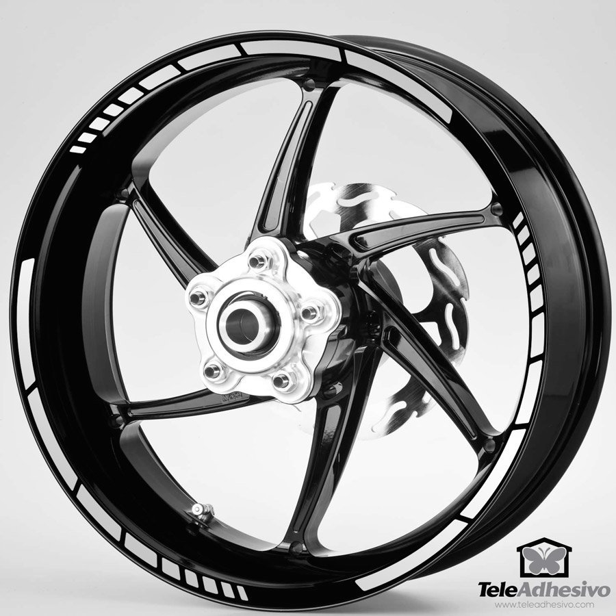 kit liseret jante moto gp style 10 mm. Black Bedroom Furniture Sets. Home Design Ideas