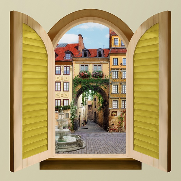 fen tre porte de la vieille ville. Black Bedroom Furniture Sets. Home Design Ideas