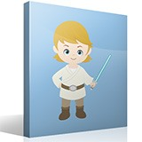 Stickers pour enfants: Luke Skywalker 4