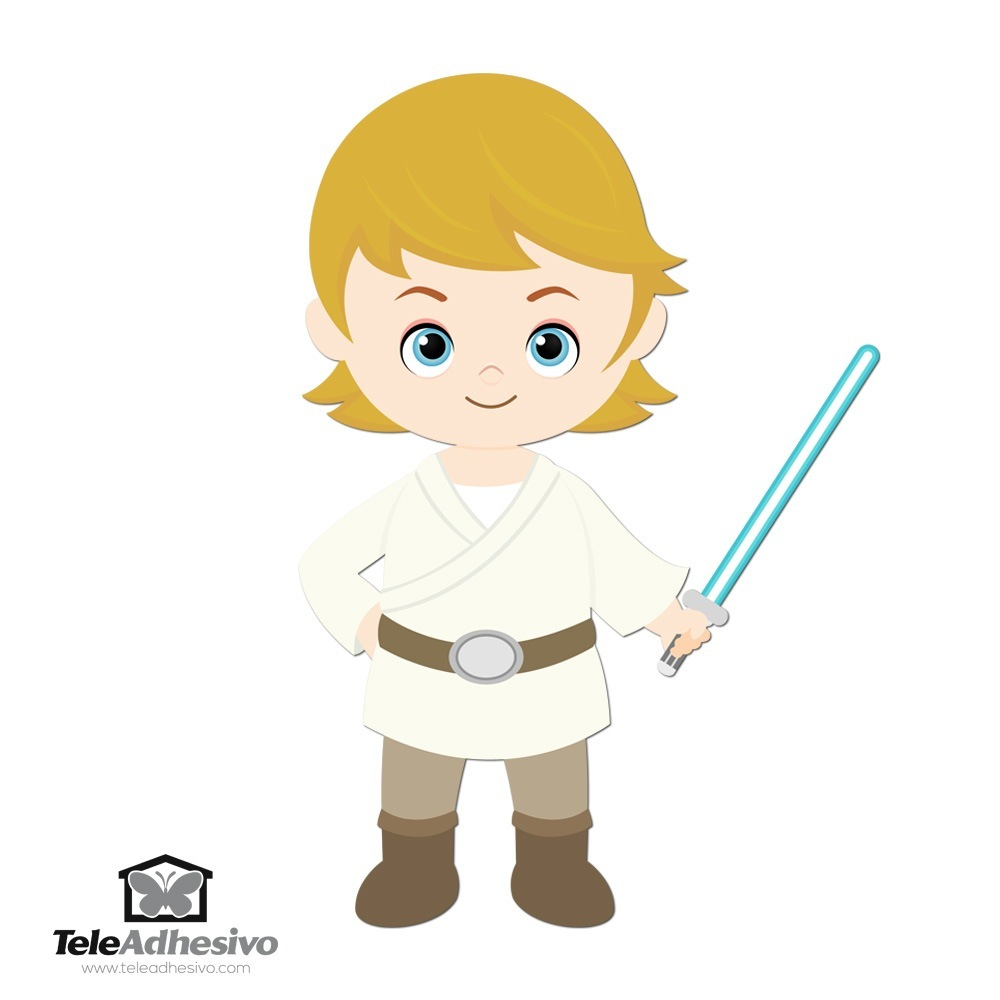 Stickers pour enfants: Luke Skywalker