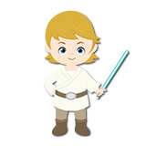Stickers pour enfants: Luke Skywalker 6