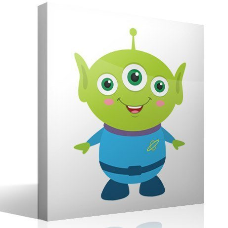 Stickers pour enfants: Martian de la Pizza Planet, Toy Story