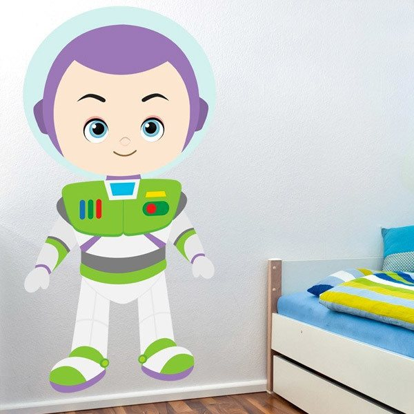 Stickers pour enfants: Buzz Lightyear, Toy Story
