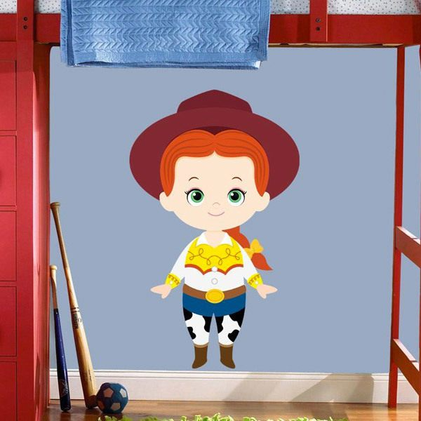 Stickers pour enfants: La cow-girl Jessie, Toy Story