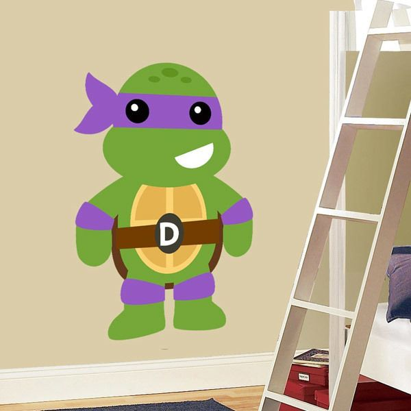 Stickers pour enfants: Tortue Ninja Donatello