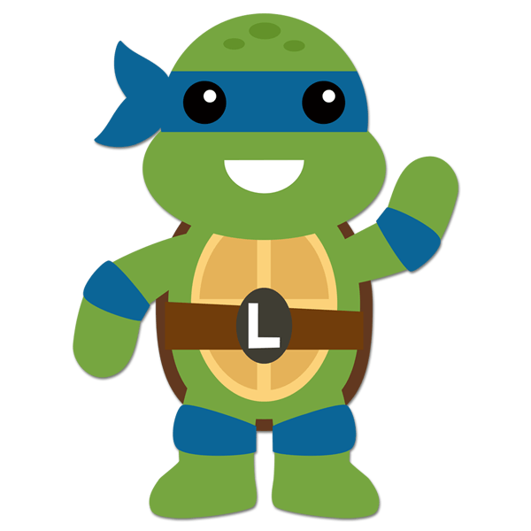 Sticker Mural Enfant Ninja Turtle Leonardo Webstickersmuraux Com