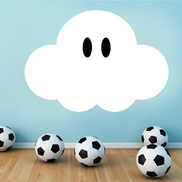 Stickers pour enfants: Super Mario Cloud