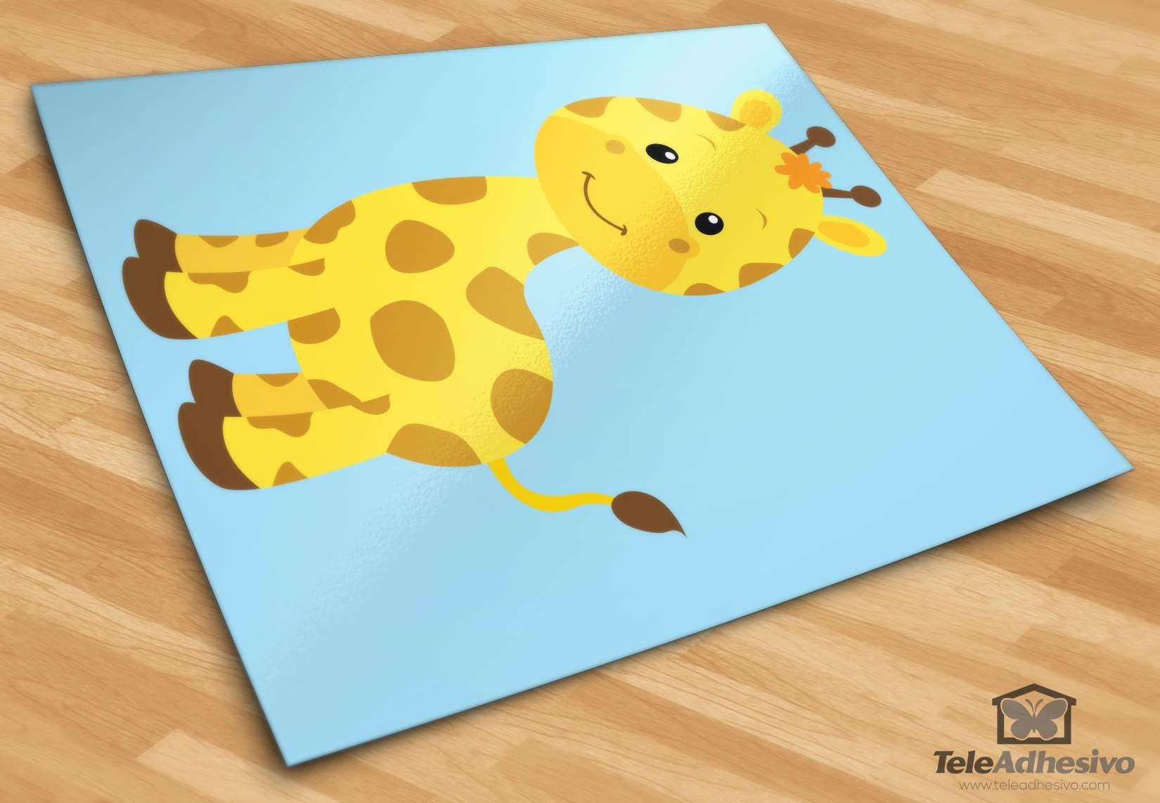 Stickers Sophie La Girafe Noir Belle Pissenlit Stickers Muraux
