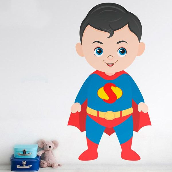 Stickers pour enfants: Superman