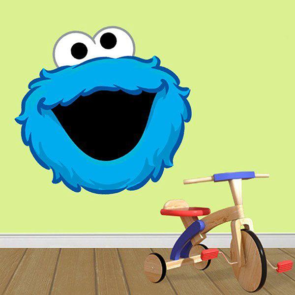 Stickers pour enfants: Rire de cookies Monster