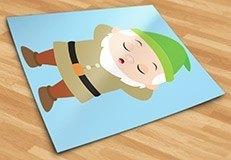 Stickers pour enfants: Nain Dormeur 5