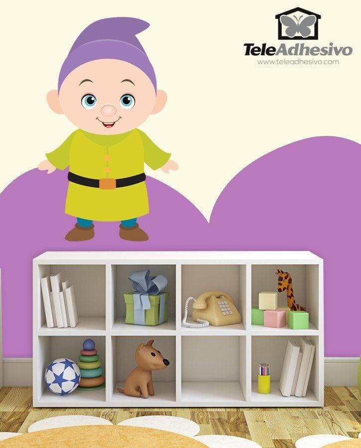 Stickers pour enfants: Nain Simplet