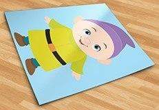 Stickers pour enfants: Nain Simplet 5