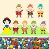 Stickers pour enfants: Kit Blanche-Neige et les Sept Nains 3