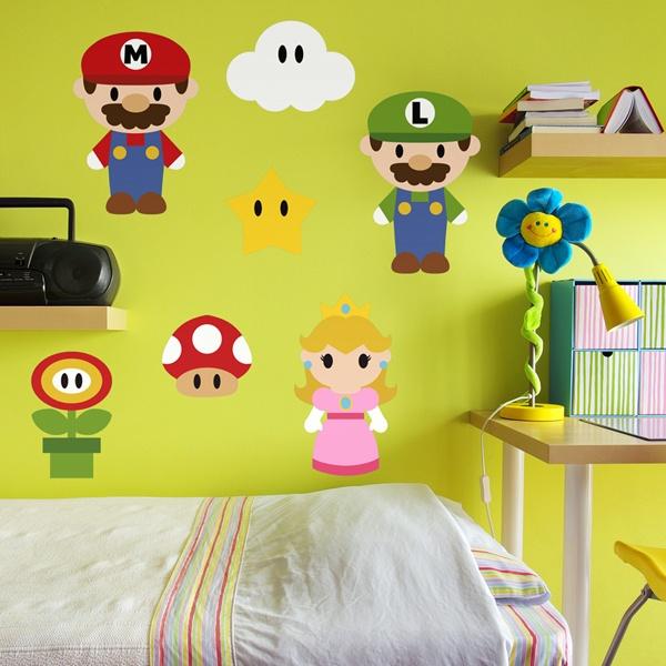 Best Stickers Muraux Mario Bros Ideas - Joshkrajcik.us - joshkrajcik.us